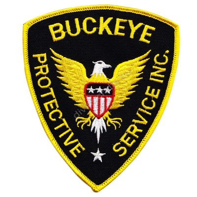 Buckeye Protective Service Embroidered Patch