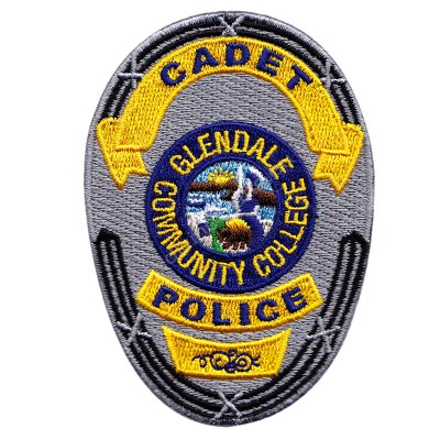 Cadet Police Embroidered Patch