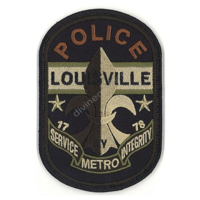 Pollice Service Embroidery Patch