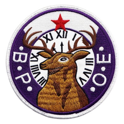 Bpoe Embroidered Patch