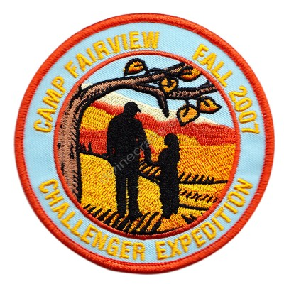 Camp Fairview Embroidered Patch