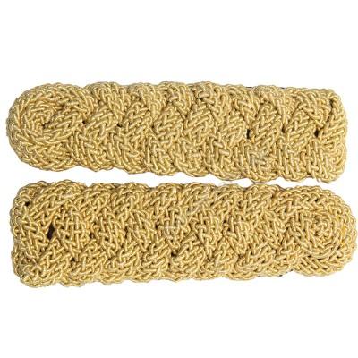 Gold Bullion Fringe Epaulettes