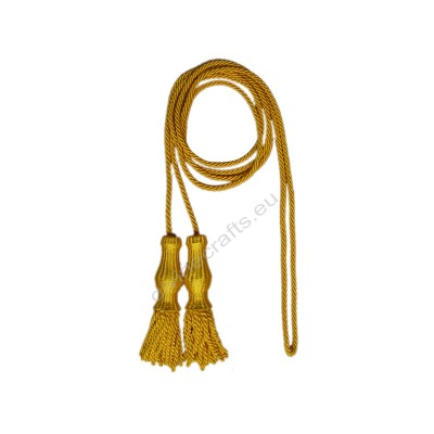 Dia Flag Gold Military Cord with Tassels
