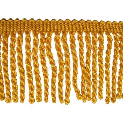 Chainette Rayon Yellow Gold Bullion Fringe