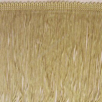 Chainette Rayon Old Gold Bullion Fringe single strand