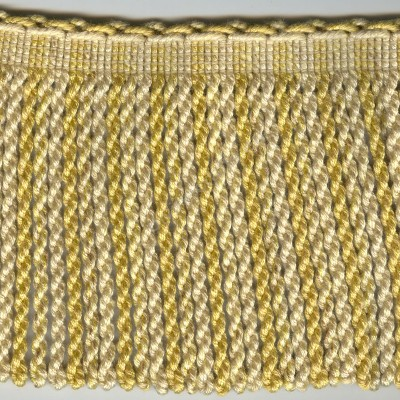 Metallic Gold Bullion Fringe