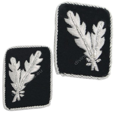 German Collar Insignia ww2