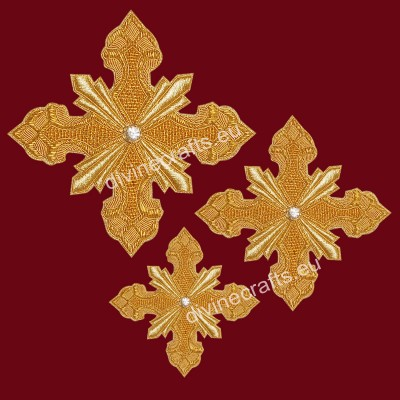 Latest Design of Orthodox Vestment Cross Set