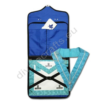Masonic Regalia Case, Worshipful Mason Apron, Past Master Collar and Glove