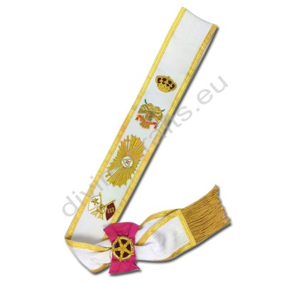 Masonic Regalia Rose Croix 33rd Degree Sash