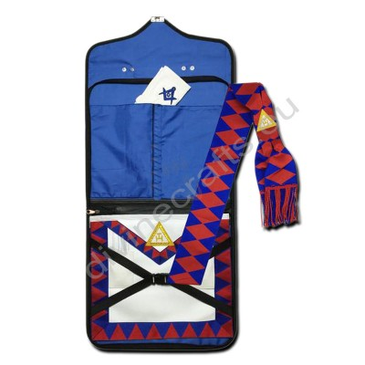Masonic Regalia Royal Arch Companion Apron,Masonic Case,Sash,Gloves Set