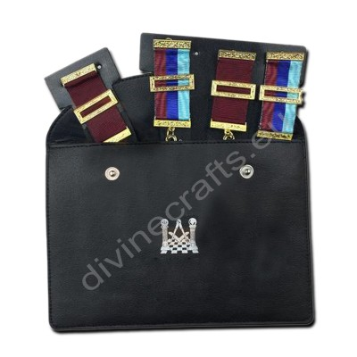 New Masonic Regalia Pocket Jewel Holder / Wallet Masonic Carry Case X Large